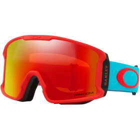Oakley Line Miner XM Snow Goggle Caribbean Sea Red/Prizm Snow Torch Iridium